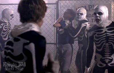 the karate kid picture - The Karate Kid Halloween Fight